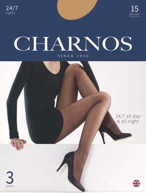 Charnos-24/7 15 Denier Tights 3 Pair Pack | Eve & Ranshaw
