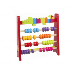 Orange Tree Toys-Crocodile Abacus | Eve & Ranshaw
