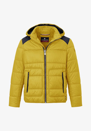 Redpoint-Wallace Ultra Lightweight Blouson Jacket Yellow | Eve & Ranshaw