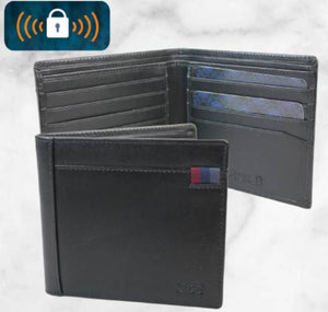 Dice-NYE Billfold Wallet Black | Eve & Ranshaw