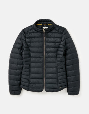 Joules-Canterbury Short Luxe Padded Jacket Navy | Eve & Ranshaw