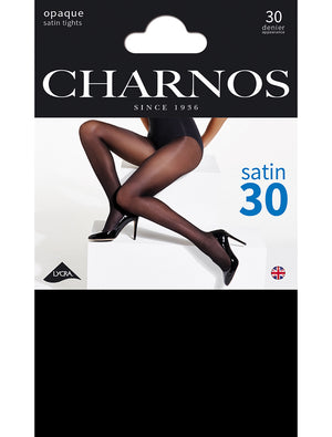 Charnos-Opaque Satin 30 Denier Tights | Eve & Ranshaw