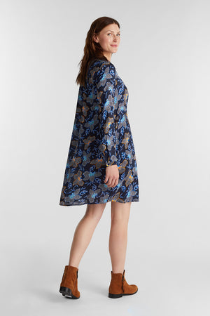 Esprit-Navy Dress | Eve & Ranshaw