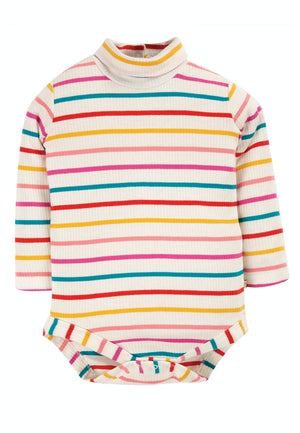 Frugi-Poppy Roll Neck Body Ginger | Eve & Ranshaw