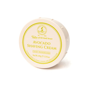 Taylor Of Old Bond Street-Avocado Shaving Cream 150G | Eve & Ranshaw