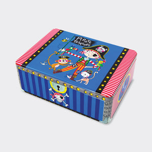 Rachel Ellen Designs-Children's Hinged Pirate Tin | Eve & Ranshaw