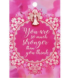 You Are An Angel-Sentiment Card With Pin | Eve & Ranshaw
