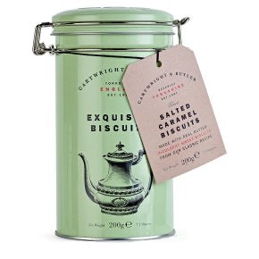 Cartwright & Butler-Salted Caramel Biscuits Tin | Eve & Ranshaw
