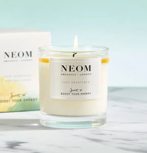 Neom-1 Wick Feel Refreshed Scented Candle | Eve & Ranshaw