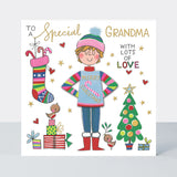 Rachel Ellen Designs-Winter Woolies Grandma Card | Eve & Ranshaw