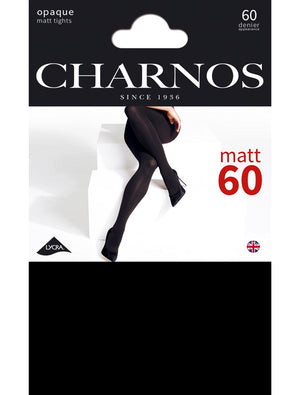 Charnos-60 Denier Matt Opaque Tights | Eve & Ranshaw