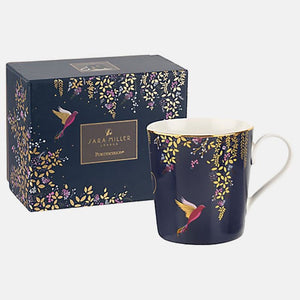 Sara Miller-Chelsea Collection Navy Mug | Eve & Ranshaw