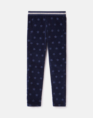 Joules-Callen Fabric Interest Legging Navy Star | Eve & Ranshaw