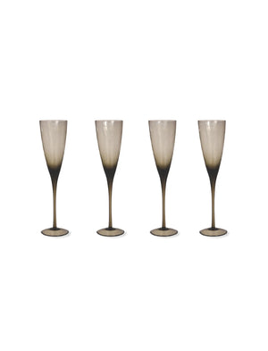 Garden Trading-Set of 4 Berkeley Champagne Flutes | Eve & Ranshaw