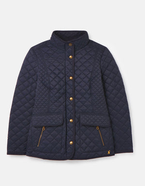 Joules-Newdale Quilted Coat Marine Navy | Eve & Ranshaw