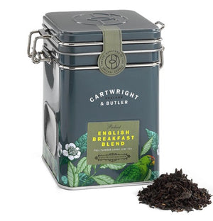 Cartwright & Butler-Loose Leaf Tea Tin - English Breakfast | Eve & Ranshaw