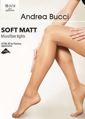 Andrea Bucci-15 Denier Soft Matt Tights | Eve & Ranshaw