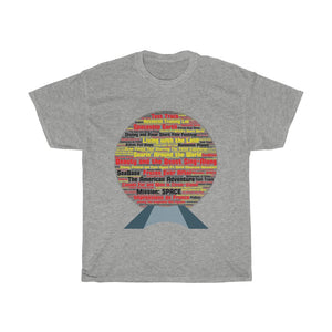 Epcot Unisex Heavy Cotton Tee