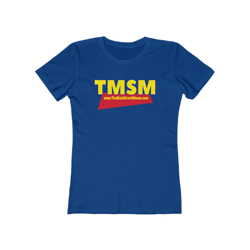 You've Got A Friend in TMSM logo Women's The Boyfriend Tee