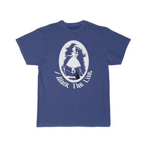 Walk The Line Men's Short Sleeve Tee