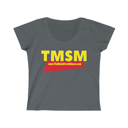 You've Got A Friend in TMSM Logo Women's Scoop Neck Tee