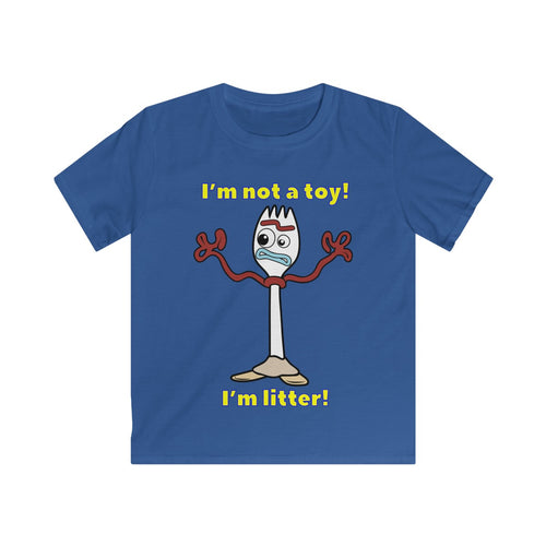 Not A Toy Kids Softstyle Tee