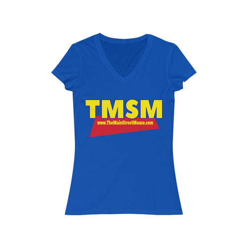 You've Got A Friend in TMSM Logo Women's Jersey Short Sleeve V-Neck Tee
