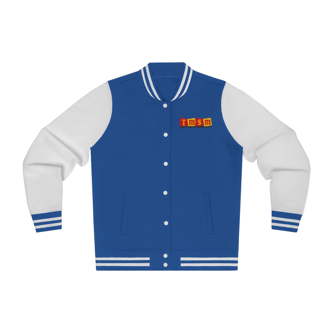 TMSM Embroidered Women's Varsity Jacket
