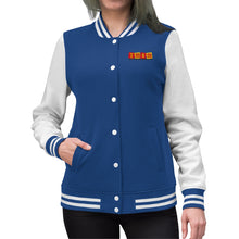 Load image into Gallery viewer, TMSM Embroidered Women's Varsity Jacket