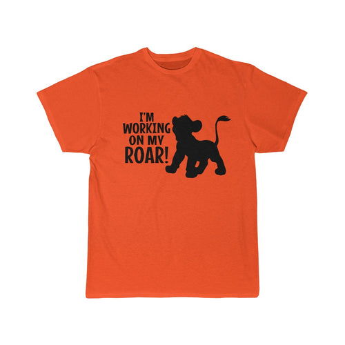 Working on my ROAR Men's Short Sleeve Tee