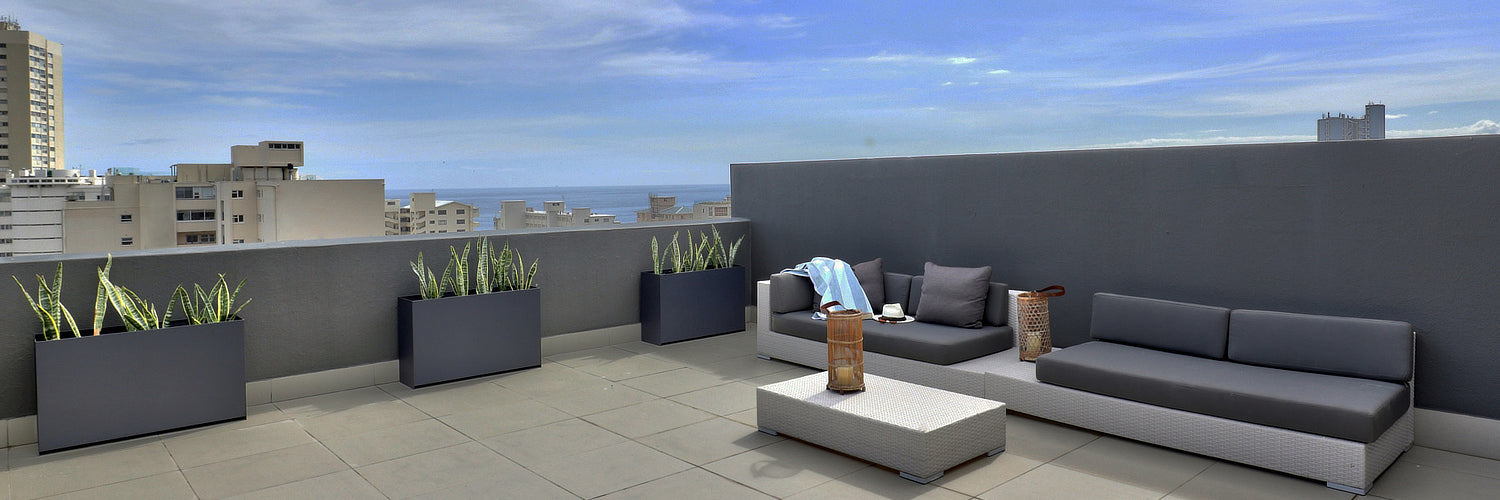 Plantr Planters Cape Town custom steel office contemporary design furniture