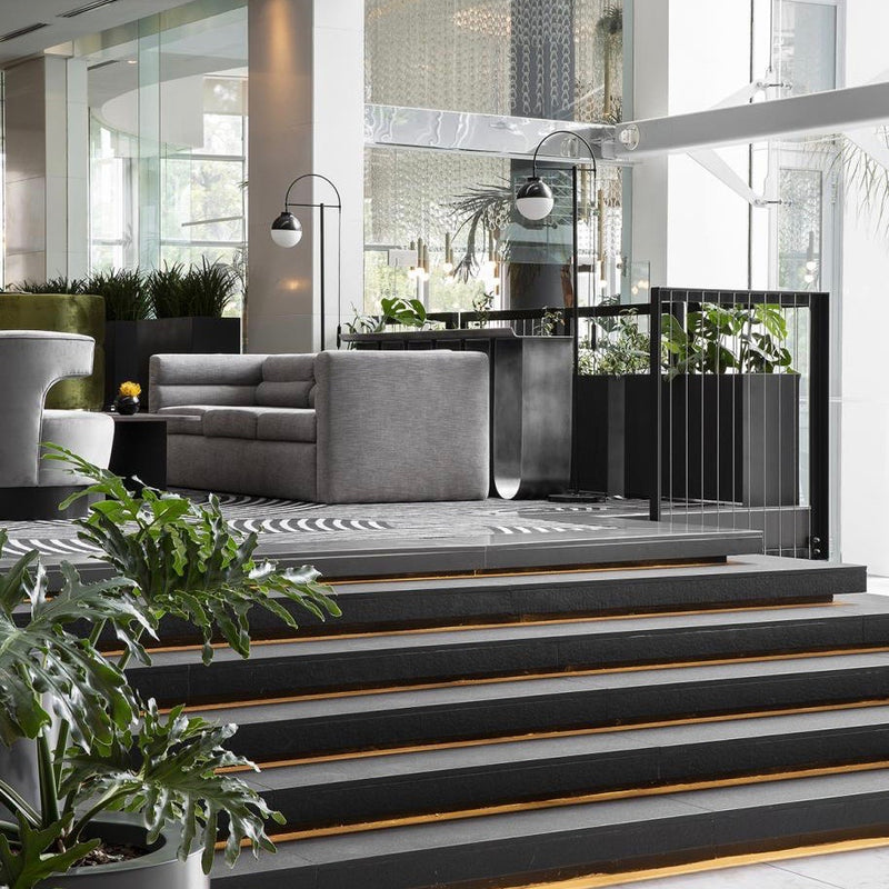 Plantr | Loft Planter box | Pot Plant Cape Town | South Africa | Stainless Steel | 15 on orange hotel