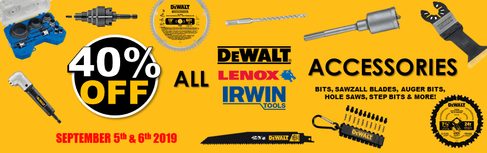 40 Off Dewalt Accessories