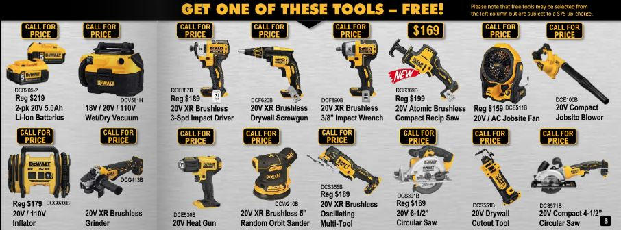 Free Tool Offer