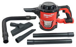 Milwaukee 0882-20 M18 18-Volt Lithium-Ion Compact Vacuum Bare Tool (Tool-Only) - wise-line-tools