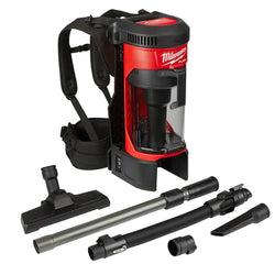 Milwaukee 0885-20 M18 FUEL 3-in-1 Backpack Vacuum - wise-line-tools