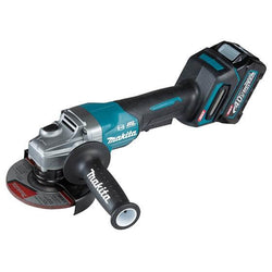"Makita GA013GM102  -  XGT 40V (4.0 Ah) MAX Li-Ion Brushless 5"" Angle Grinder Kit (Paddle Switch)"