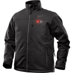Milwaukee M12 Toughshell Black Heated Jacket Kit - wise-line-tools