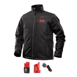 Milwaukee M12 Toughshell Black heated jacket - wise-line-tools