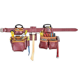 Kunys Signature 21455  -  Elite 19-Pocket Pro Framer's Leather Tool Belt