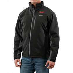 Milwaukee 2395-2X - M12 Black Heated Jacket Kit - XXL - wise-line-tools
