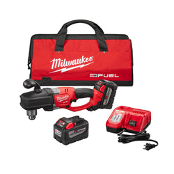 "Milwaukee 2707-22HD  -  M18 FUEL™ HOLE HAWG® 1/2"" Right Angle Drill High Demand™ Kit - wise-line-tools"