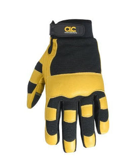 CLC Goatskin Work Gloves - Large - wise-line-tools