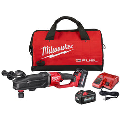 Milwaukee 2811-22 - M18 FUEL™SUPER HAWG™ Right Angle Drill w/ QUIK-LOK™ Kit - Wise Line Tools