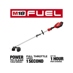 Milwaukee  2825-21ST  -  Milwaukee M18 Fuel QUIK-LOK String Trimmer Kit - wise-line-tools
