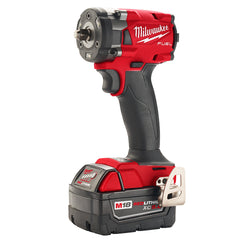 "Miwlaukee 2854-22  -  M18 Fuel 3/8"" Compact Impact Wrench Kit - 5.0Ah; Replaces 2754-22"