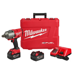"Milwaukee 2864-22  -  Gen II M18 3/4"" High Torque Impact Wrench Kit - 5.0Ah"