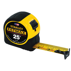 Stanley 33-725 25-Feet FatMax Tape Measure - Wise Line Tools