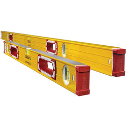 Stabila 37532 Jamber 78-Inch and 32-Inch Aluminum Box Beam Level Set - wise-line-tools