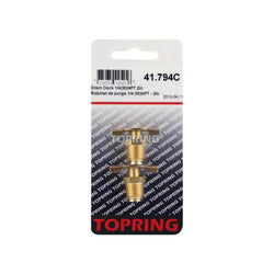 "Topring 1/4"" Drain Cock - Wise Line Tools"